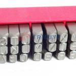 bộ đục chữ 12mm Triệu Vũ