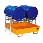 Kệ để thùng phuy chứa hóa chất