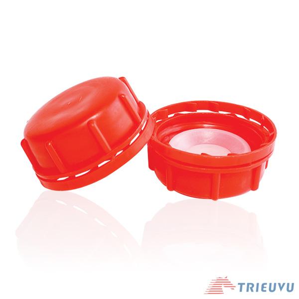Nắp can nhựa đỏ