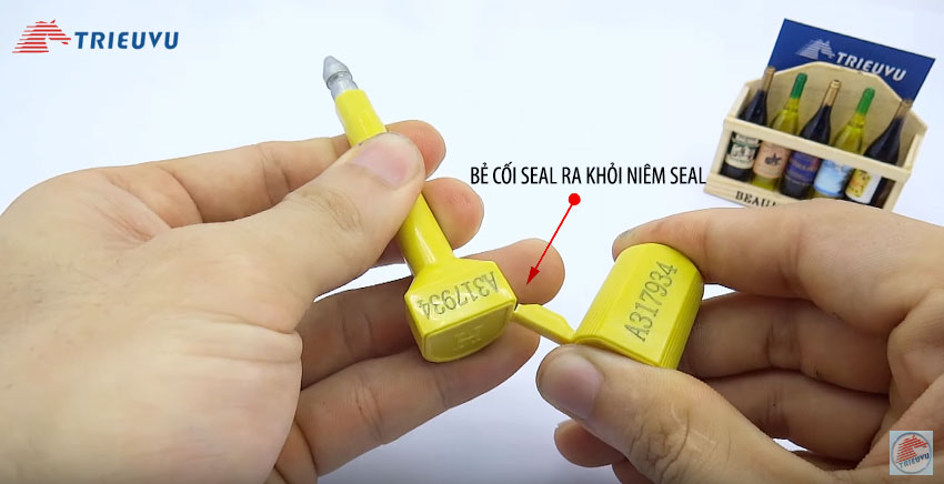 cách sử dụng seal cối container